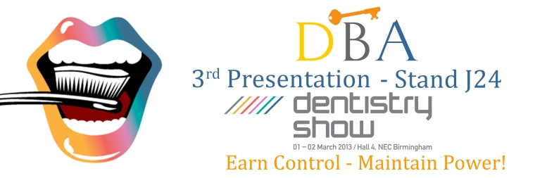 DBA 3rd Presentation at Dentistry Show UK